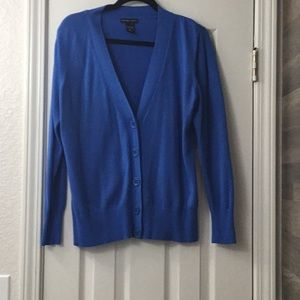 Women's, New York & Co, Cardigan, size L, Blue